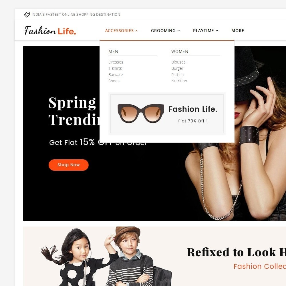theme - Moda & Calzature - Fashion Life - 8