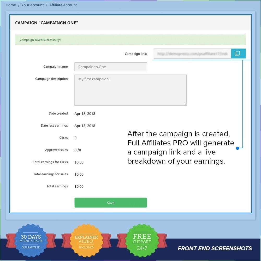 module - SEA SEM (paid advertising) & Affiliation Platforms - Full Affiliates PRO - 6
