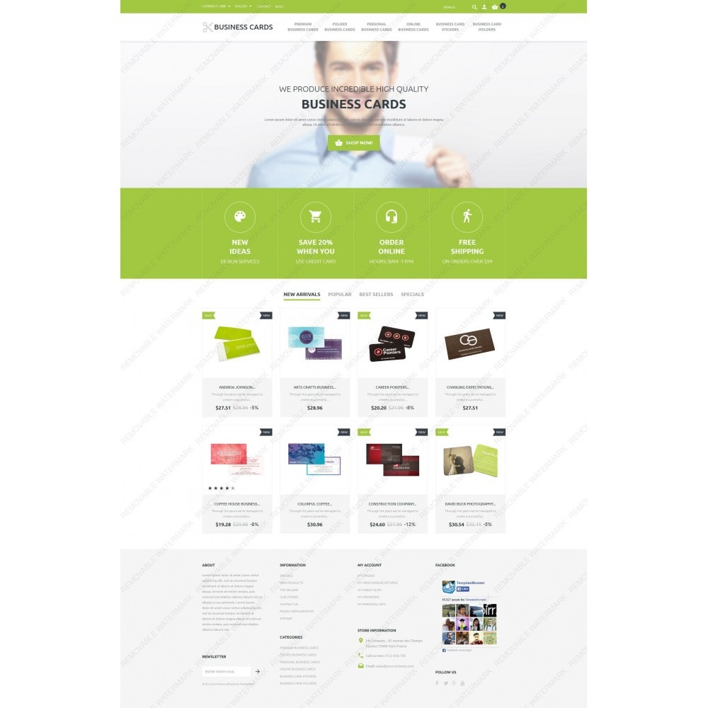 Business Cards Store