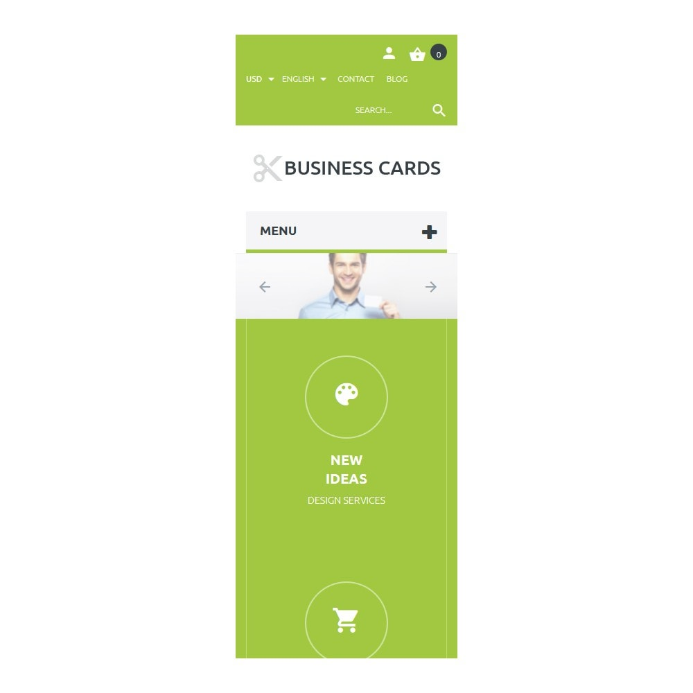 theme - PrestaShop thema's - Business Cards Store - 9
