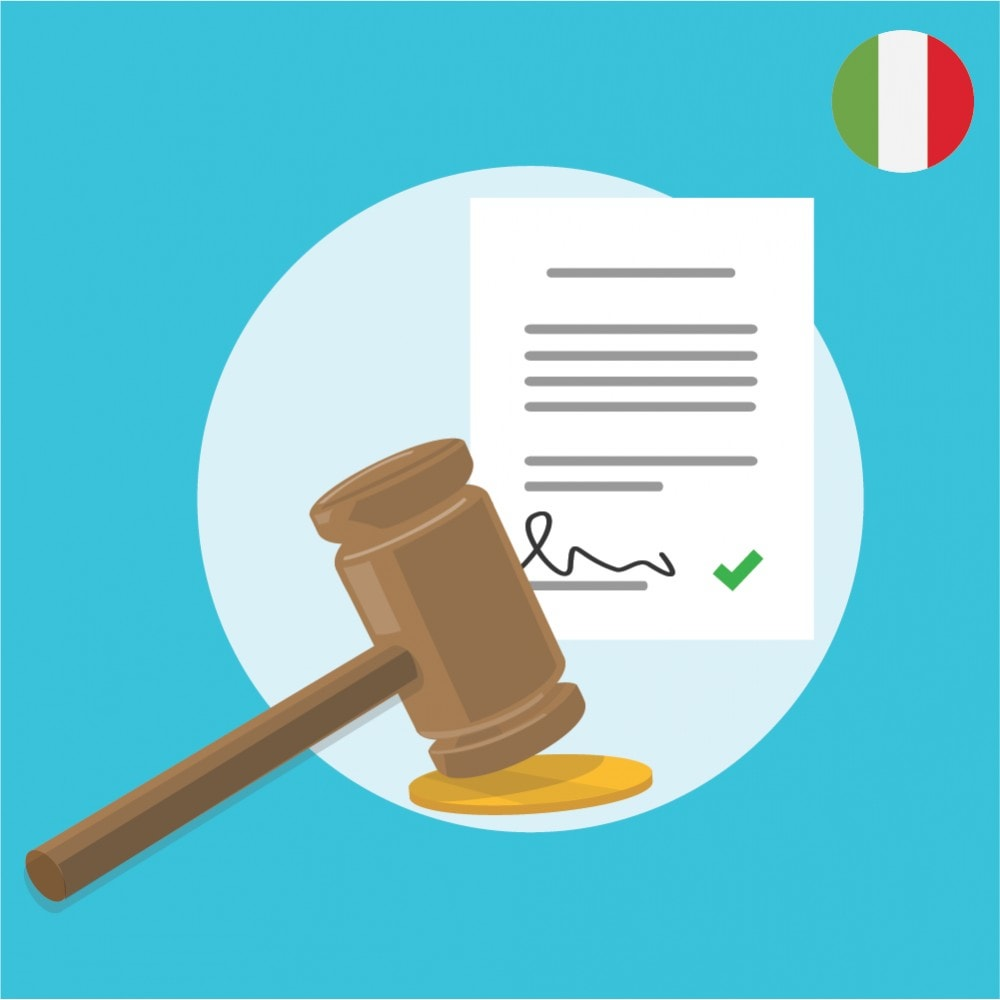 module - Jurídico - Custom Terms and Conditions for Italy - GDPR Compliant Module - 1