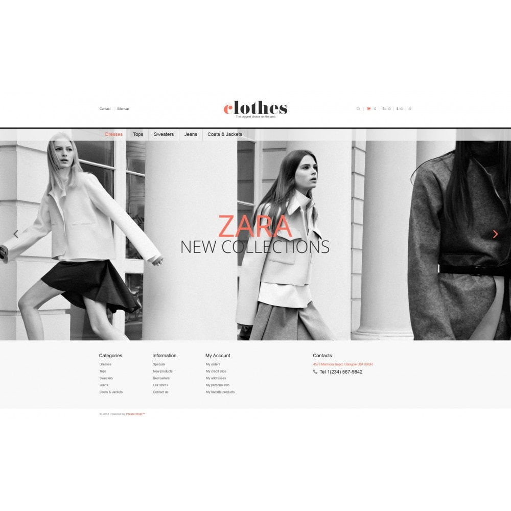 theme - Moda & Obuwie - Responsive Clothes Store - 4