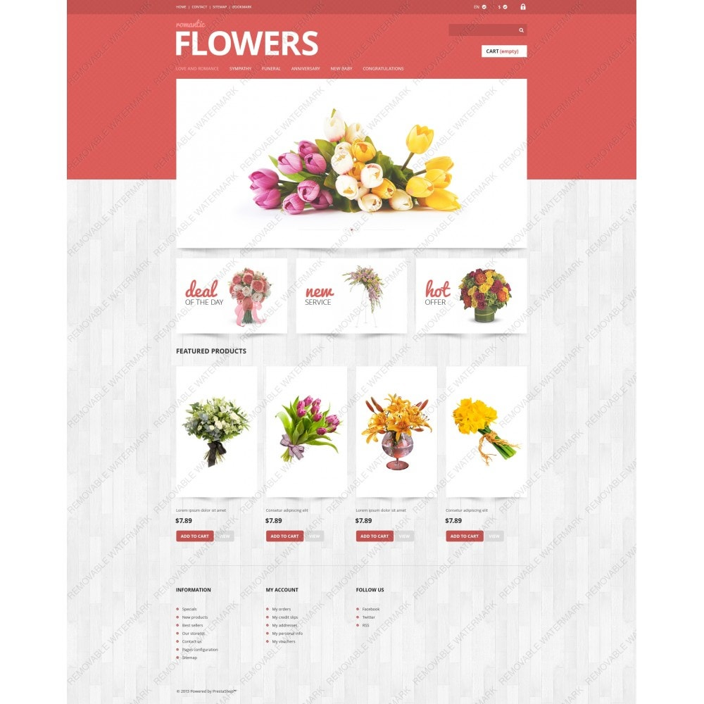 theme - Gifts, Flowers & Celebrations - Flowers Shop - 5