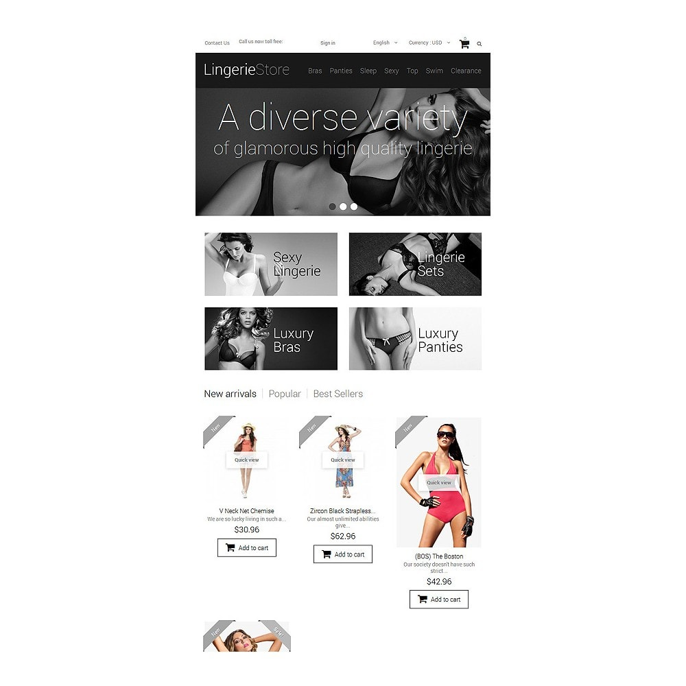 theme - Moda y Calzado - Selling Lingerie - 7