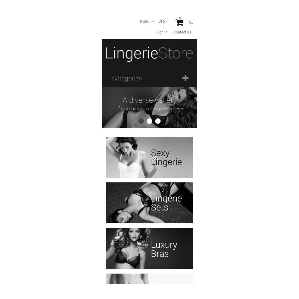 theme - Mode & Chaussures - Vente de lingerie - 9