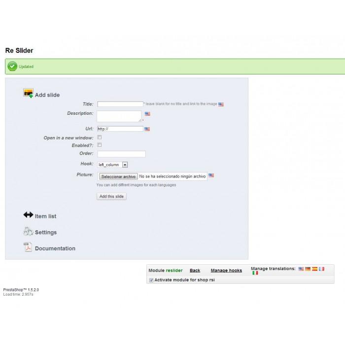 module - Silder & Gallerien - ReSlider Responsive multilingual slider - 7
