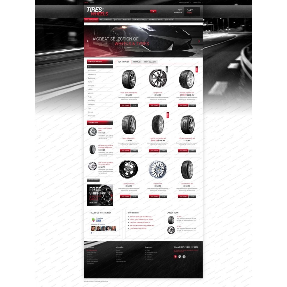 theme - Automotive & Cars - Tires  Wheels for Autos - 3