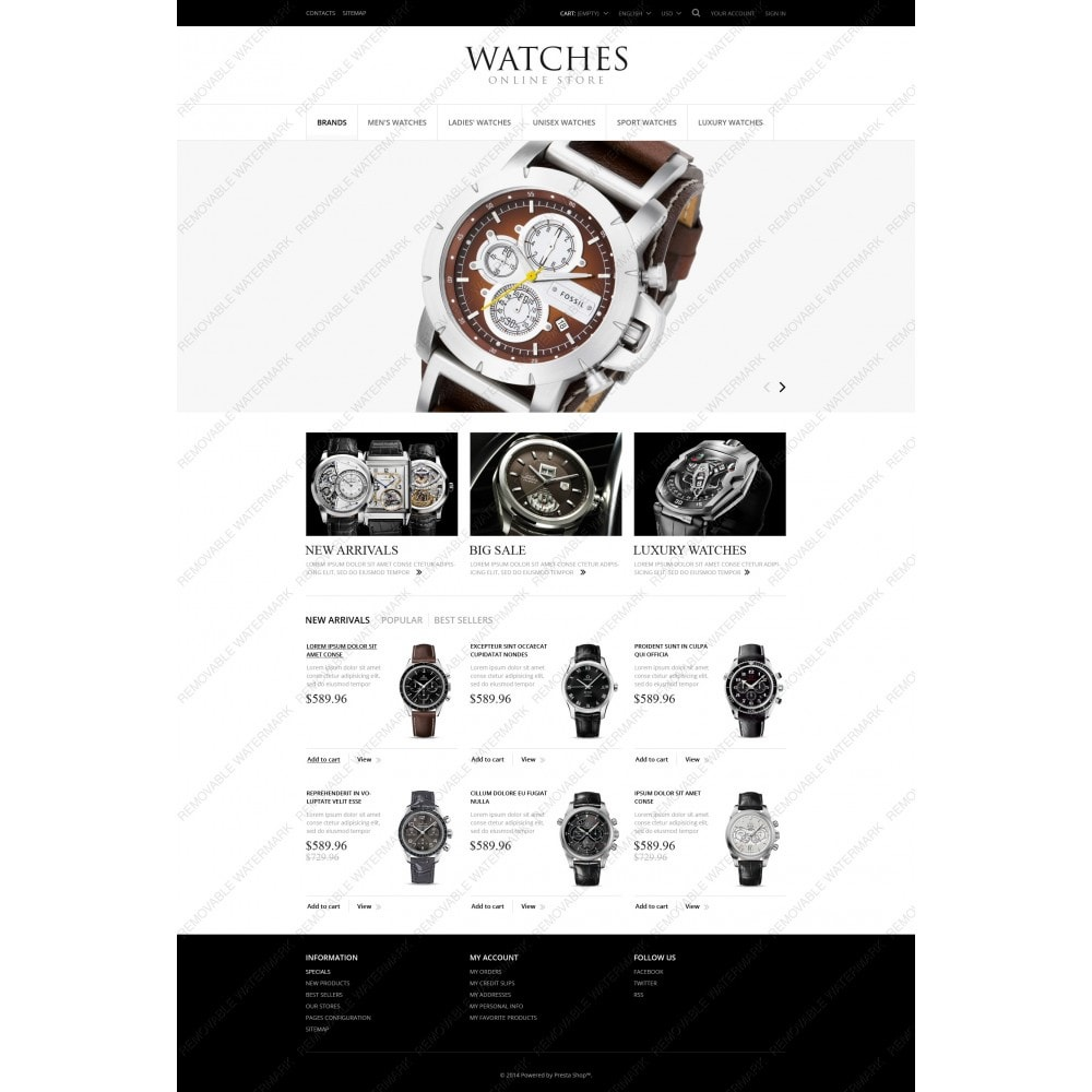 theme - Moda & Obuwie - Exclusive Watches - 3