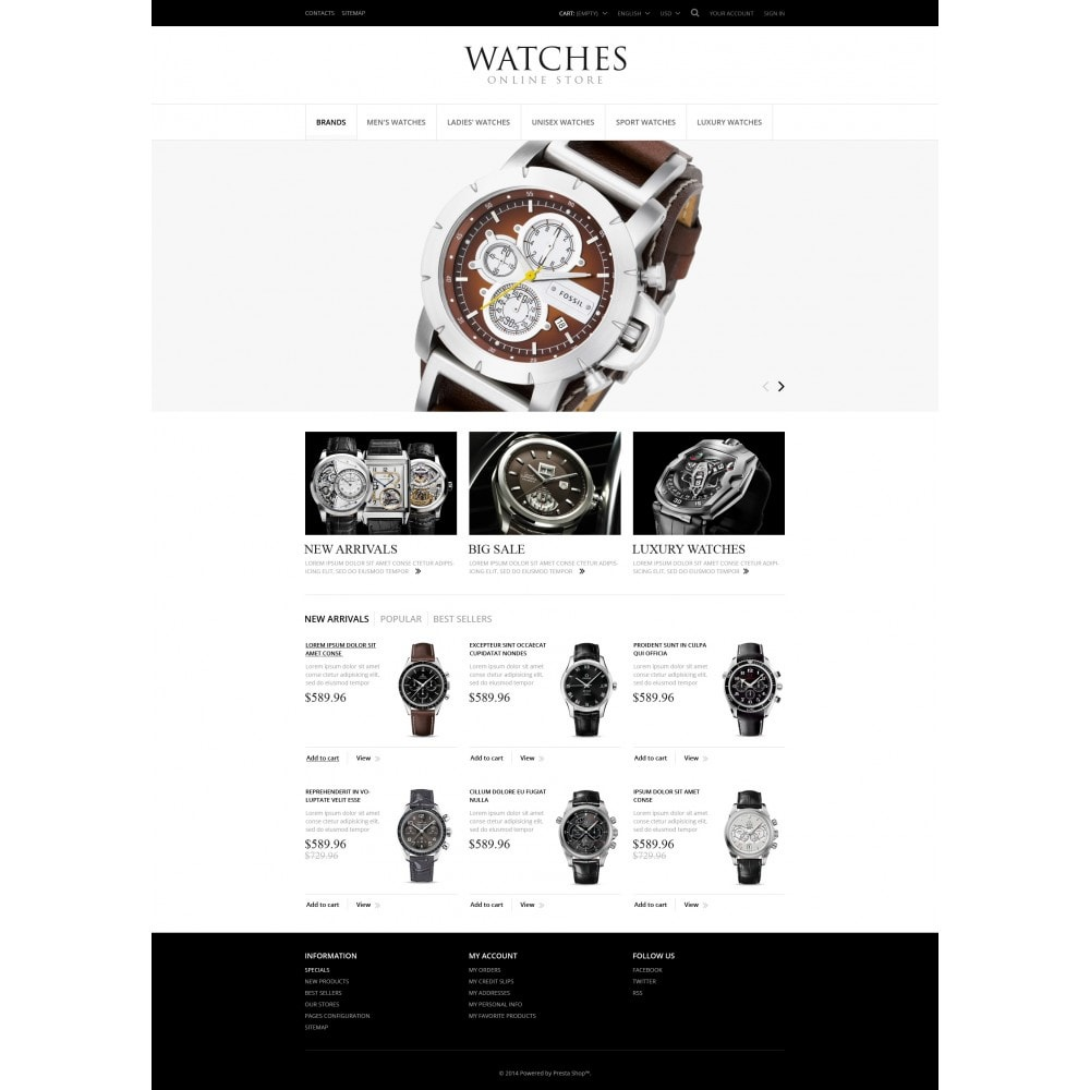 theme - Moda & Obuwie - Exclusive Watches - 4