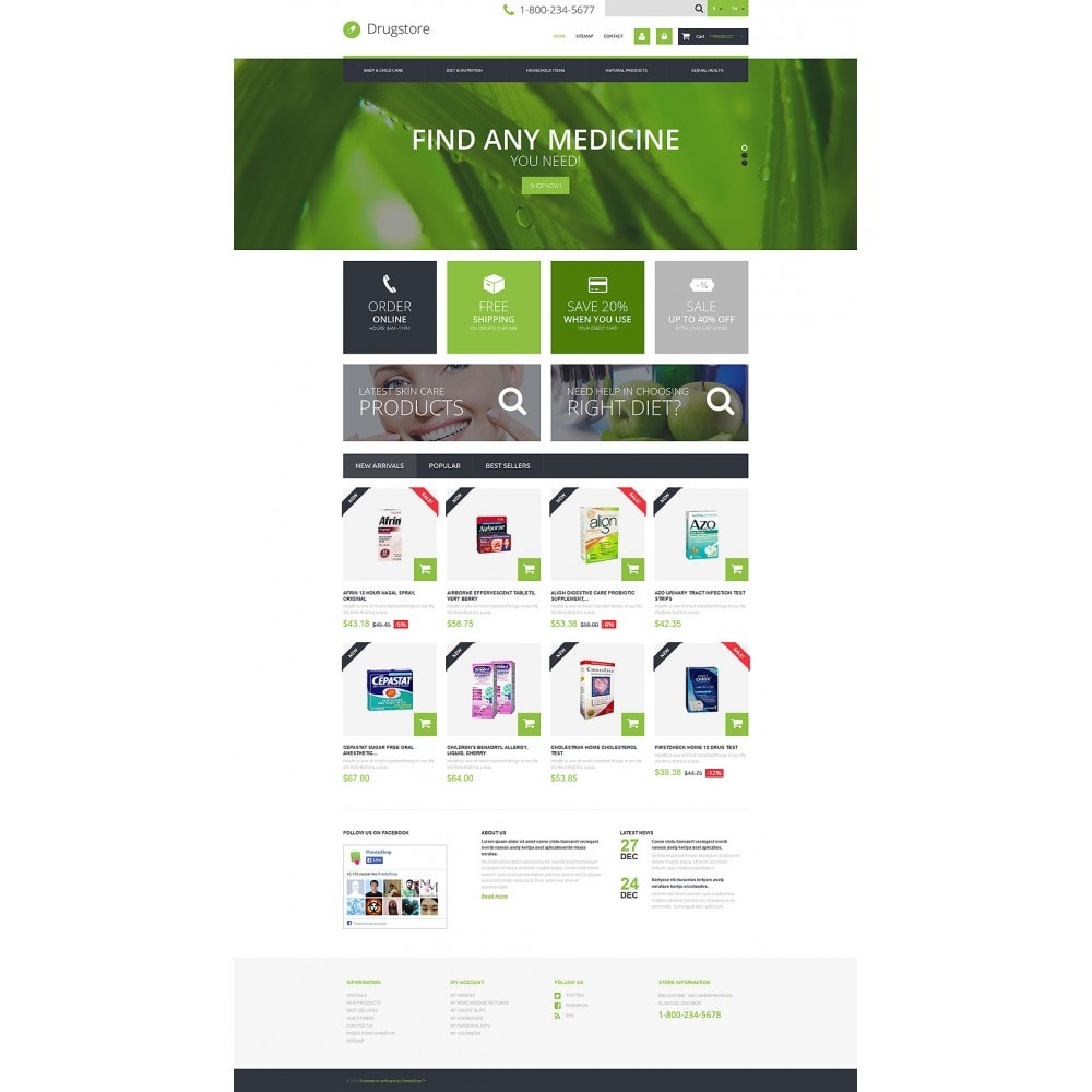 theme - Salute & Bellezza - Medical Ecommerce Business - 2