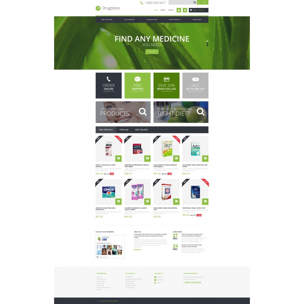 theme - Salute & Bellezza - Medical Ecommerce Business - 4