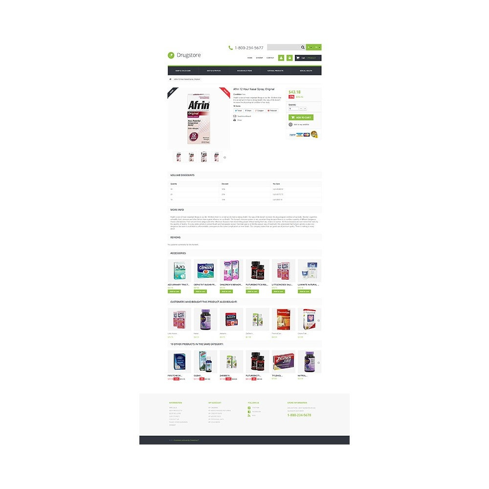 theme - Salute & Bellezza - Medical Ecommerce Business - 6
