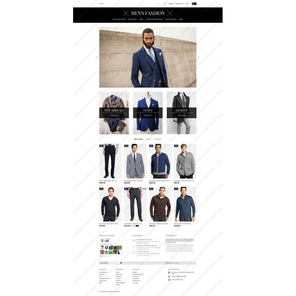 Men's Corporate Fashion Shop