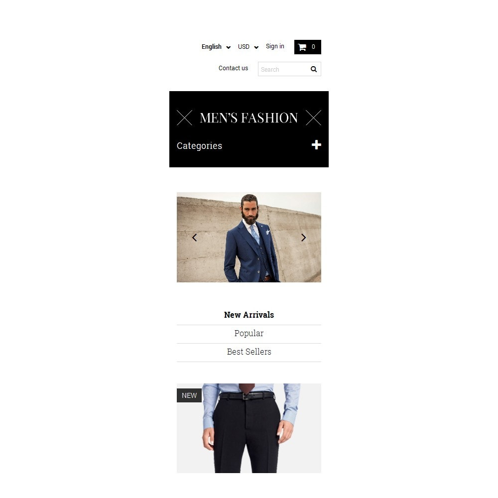 theme - Fashion & Shoes - Men's Corporate Fashion Shop - 9