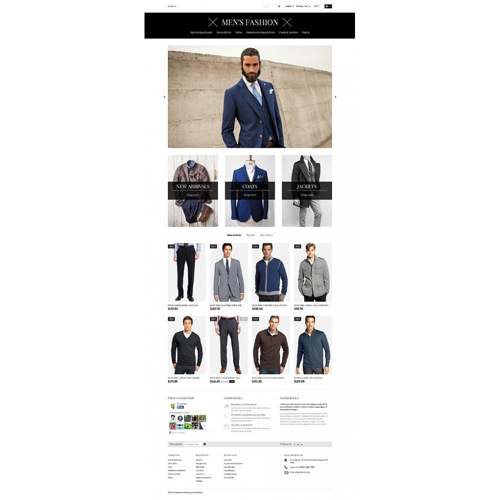 theme - Fashion & Shoes - Men's Corporate Fashion Shop - 10