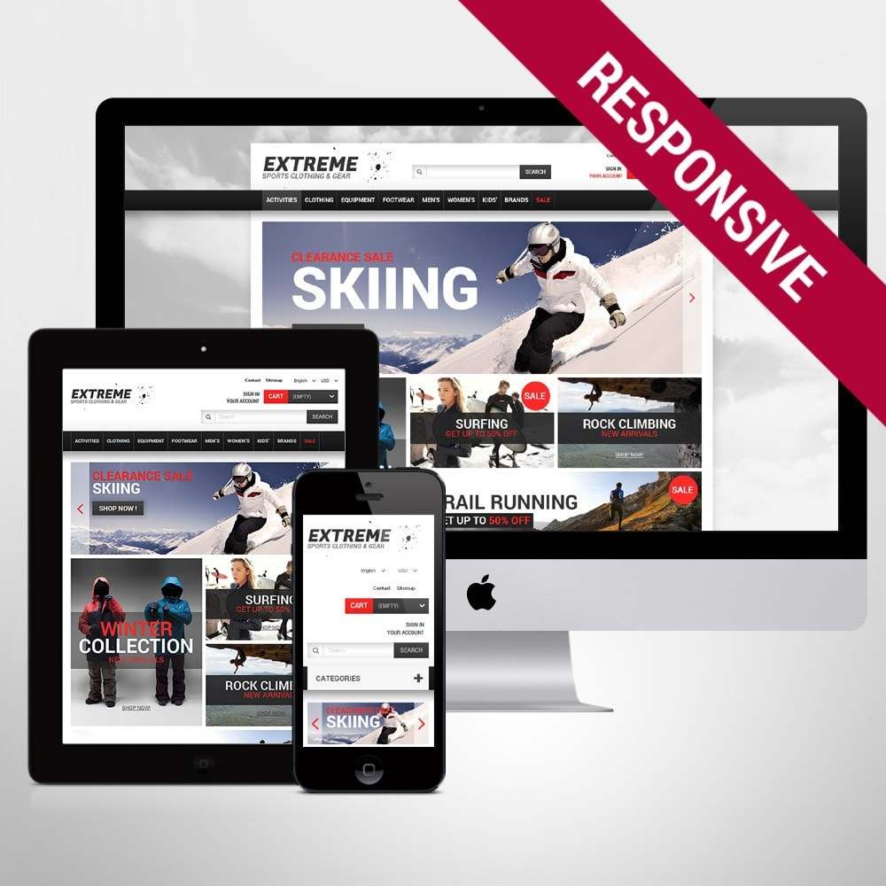 theme - Sports, Activities & Travel - Extreme Sports Gear - 1
