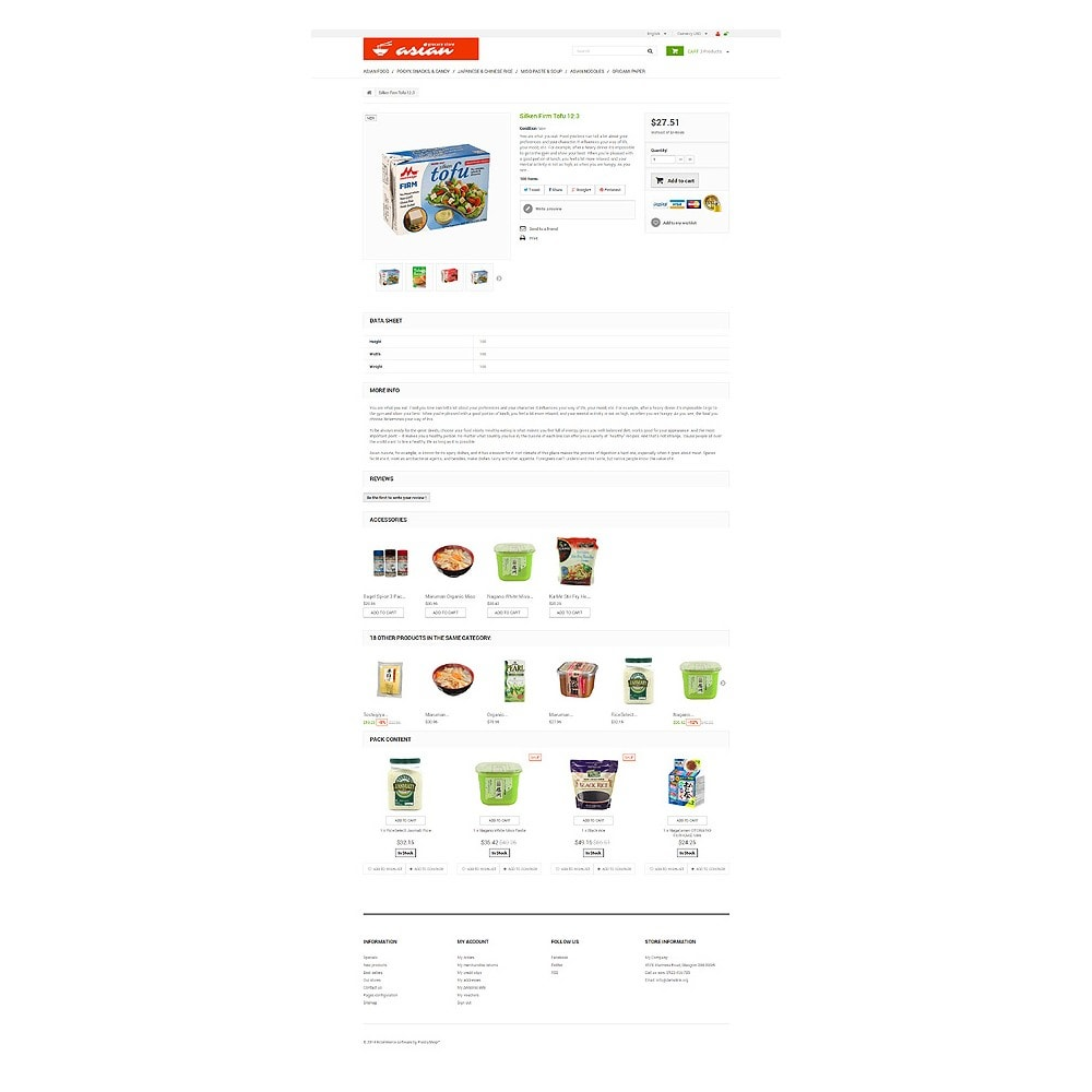 theme - Alimentos & Restaurantes - Asian Grocery - 6