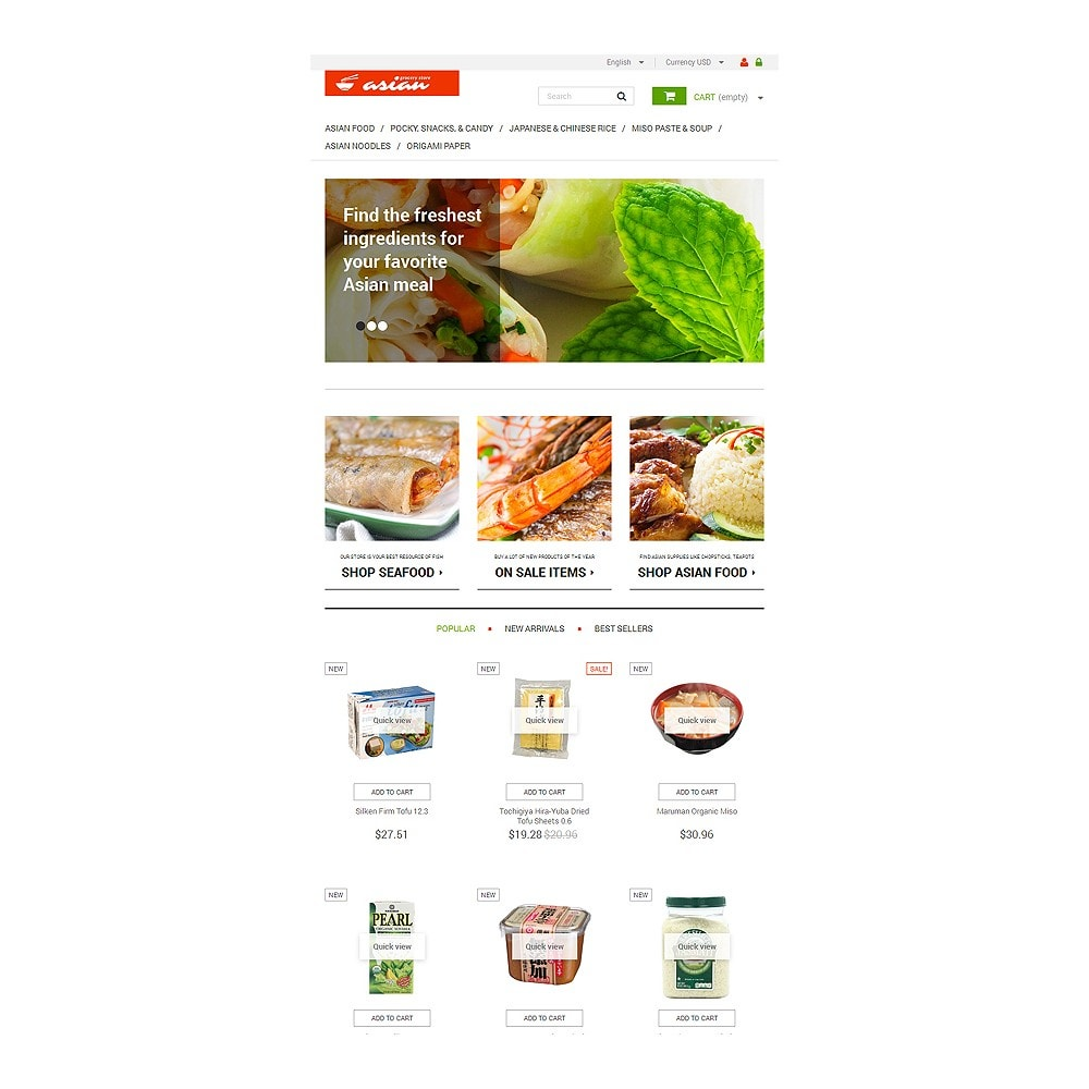 theme - Alimentos & Restaurantes - Asian Grocery - 7