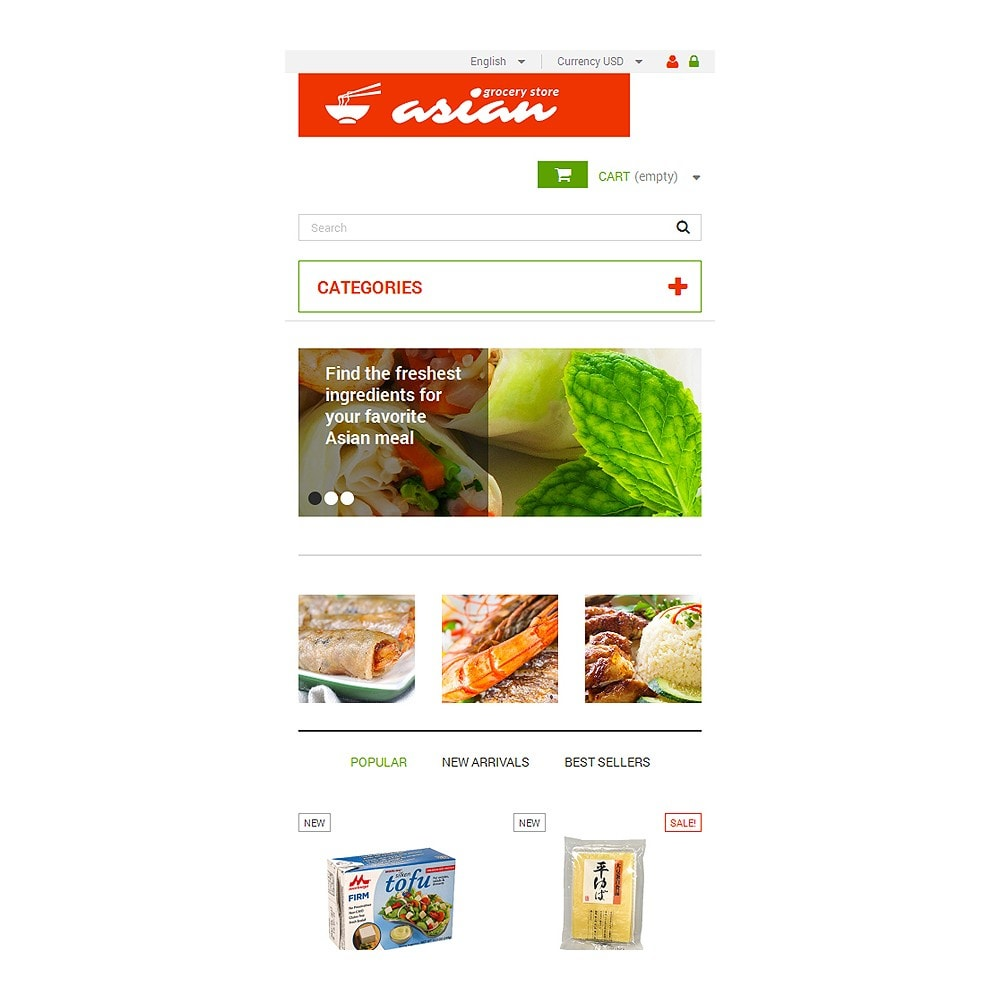 theme - Alimentos & Restaurantes - Asian Grocery - 8