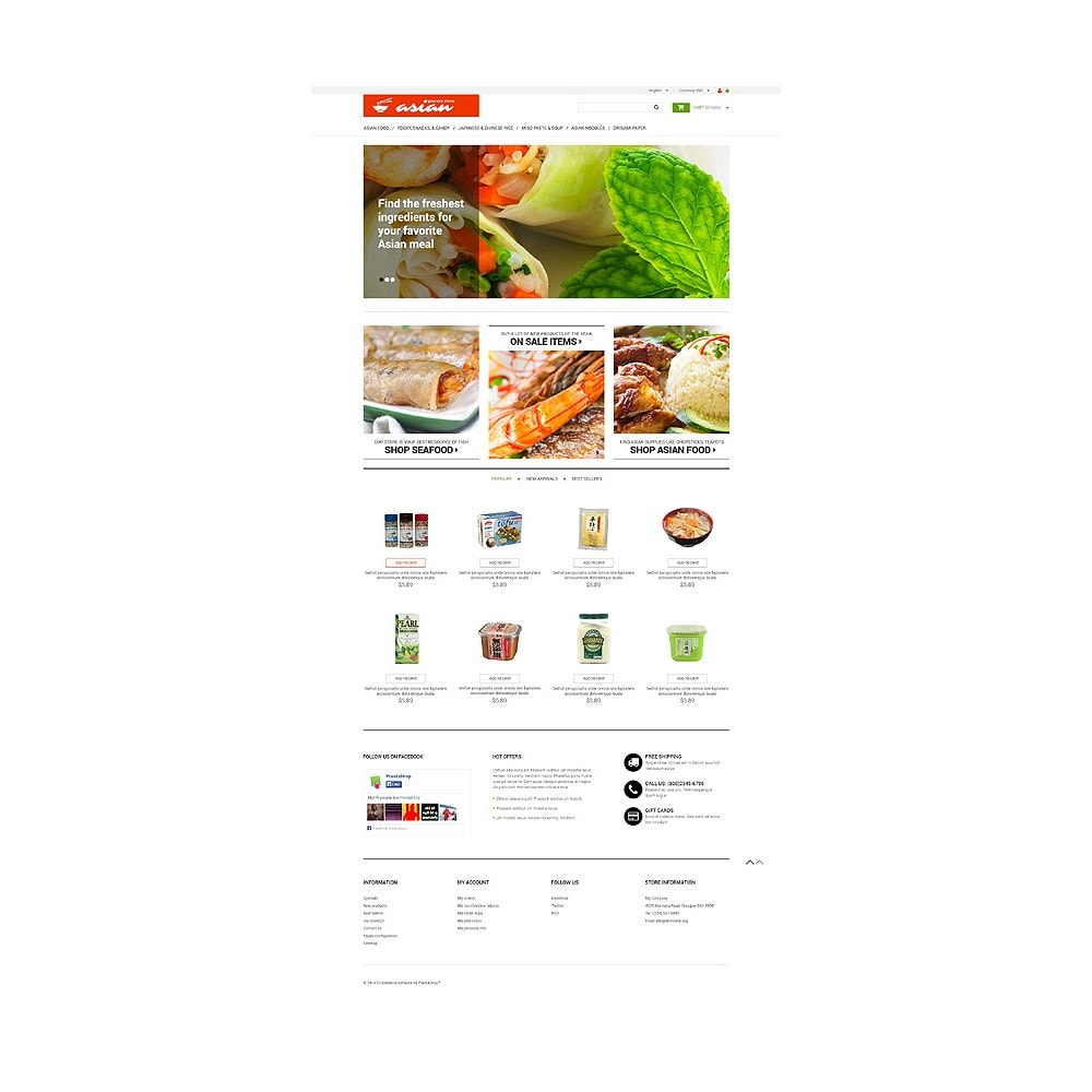 theme - Alimentos & Restaurantes - Asian Grocery - 10