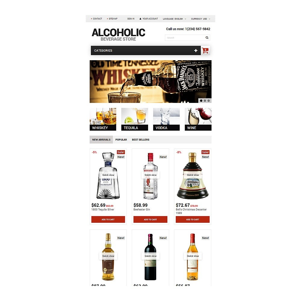 theme - Lebensmittel & Restaurants - Alcoholic Beverage Store - 7