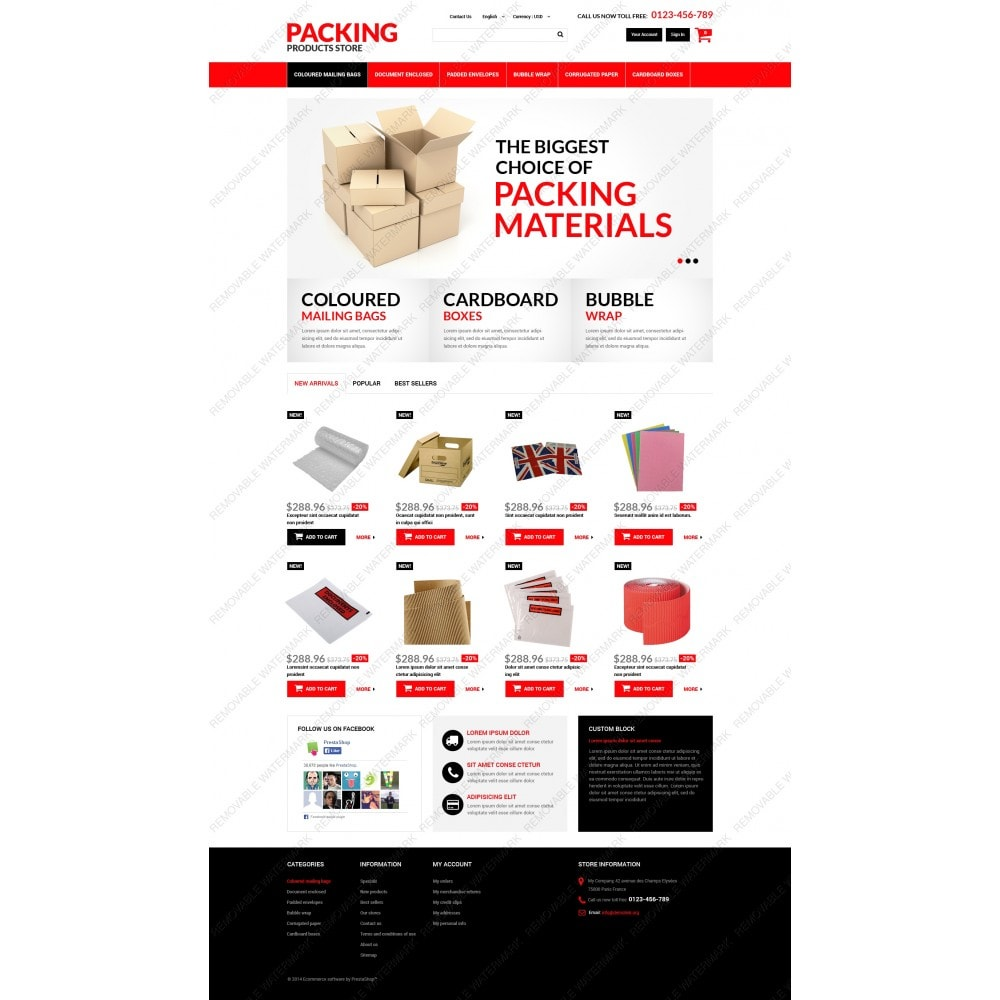 theme - Dom & Ogród - Packing Products - 3
