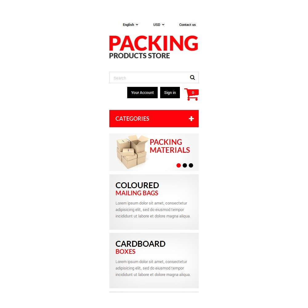 theme - Dom & Ogród - Packing Products - 9