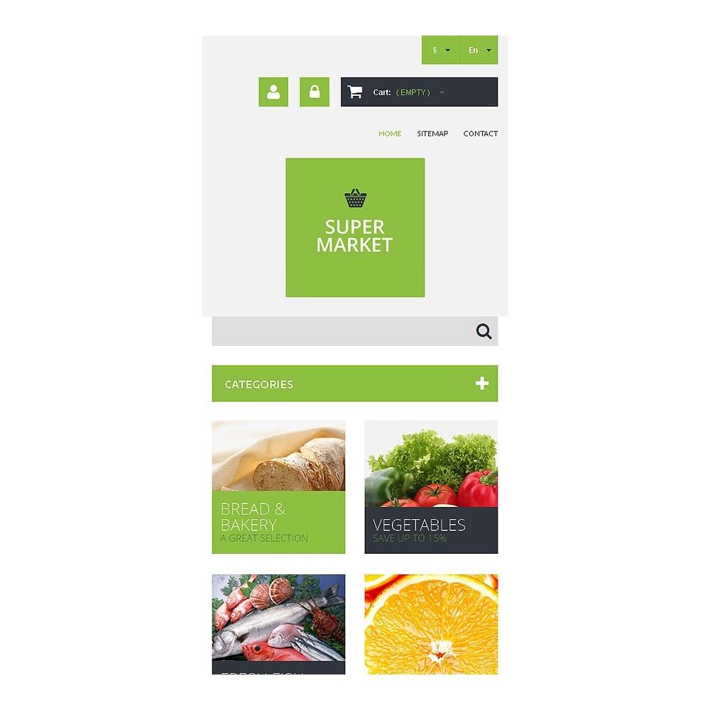 theme - Eten & Restaurant - Supermarket Template - 8