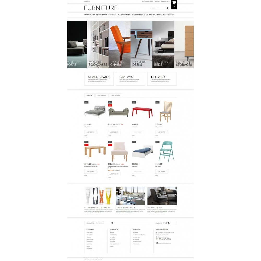 theme - Arte y Cultura - Selling Furniture Online - 2