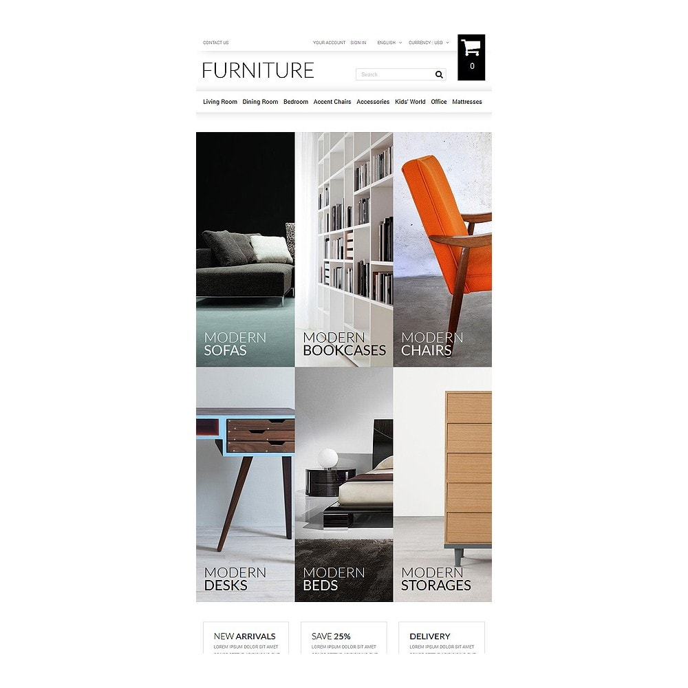 theme - Kultura & Sztuka - Selling Furniture Online - 7