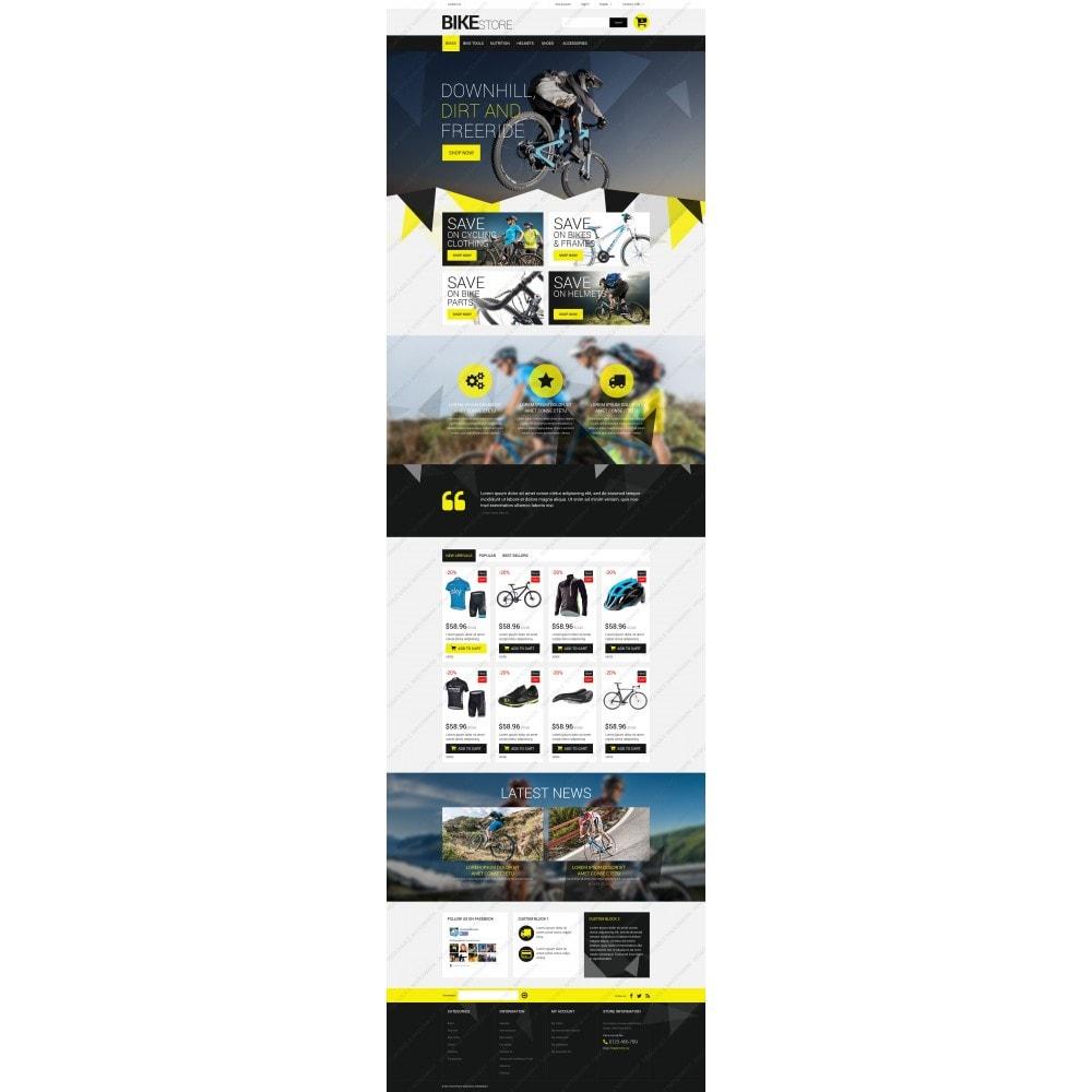 theme - Sport, Rozrywka & Podróże - Bike Store - 3