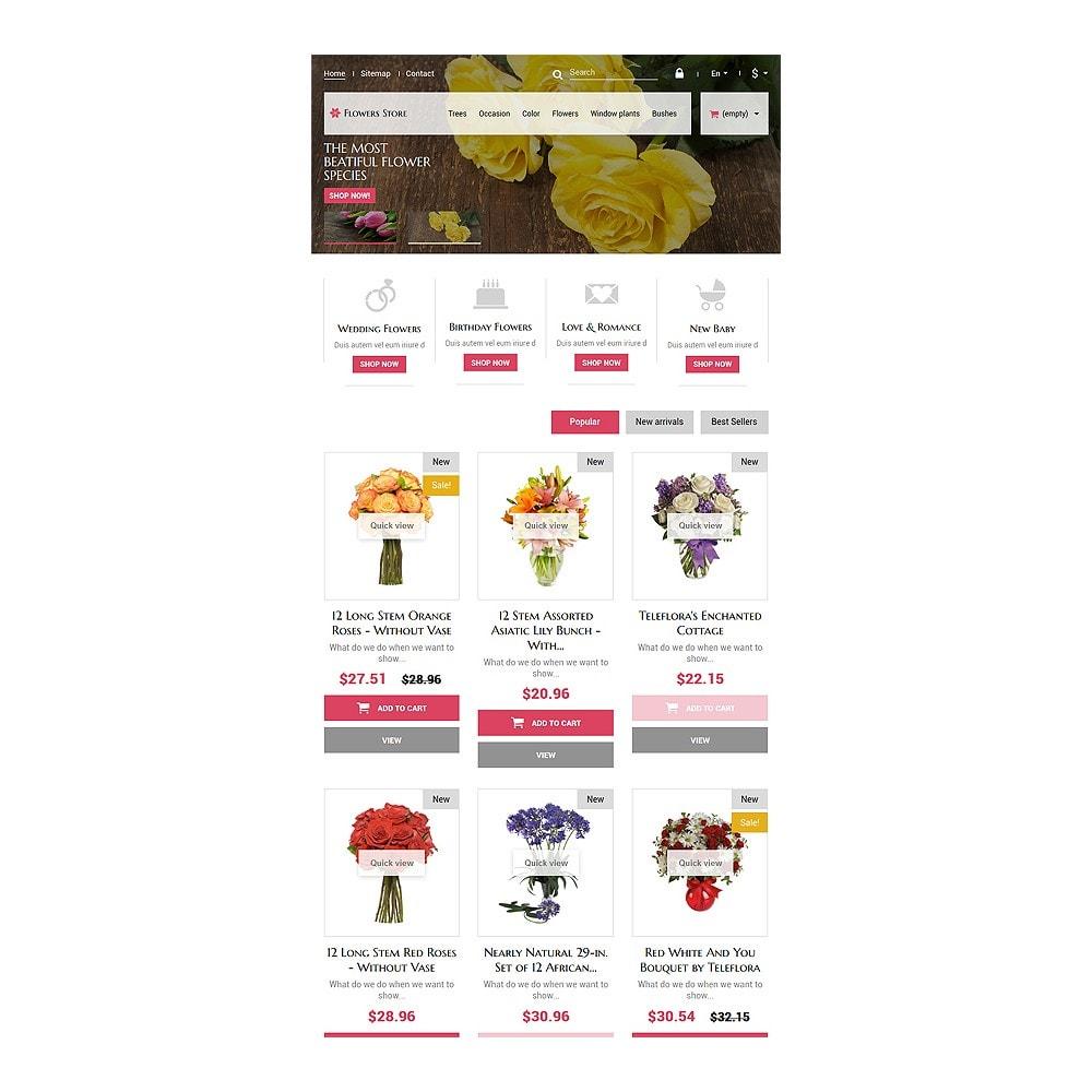 theme - Подарки, Цветы и праздничные товары - Flowers Store - 7