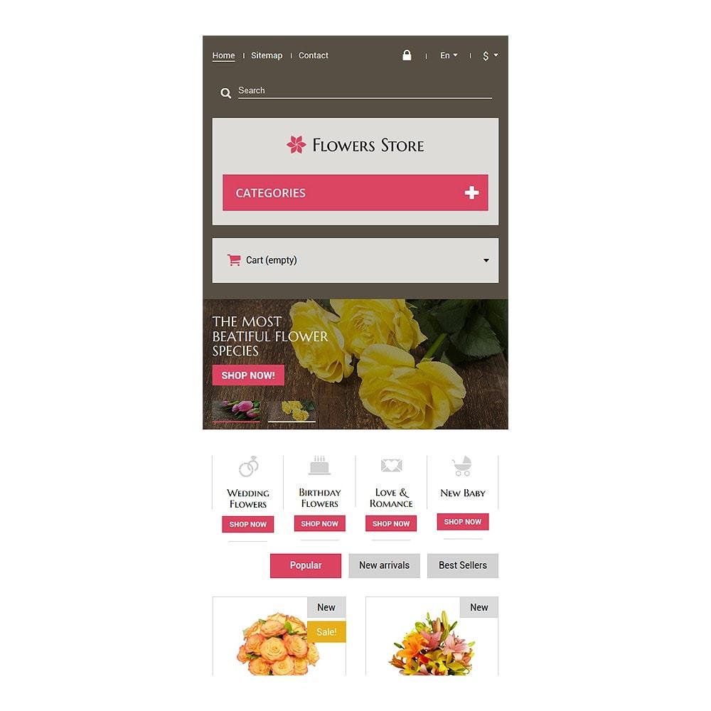 theme - Подарки, Цветы и праздничные товары - Flowers Store - 8