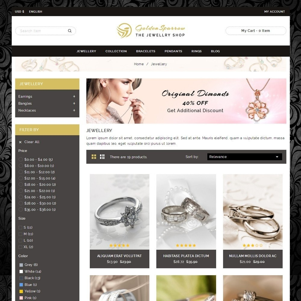 Golden Sparrow - Jewelry Shop