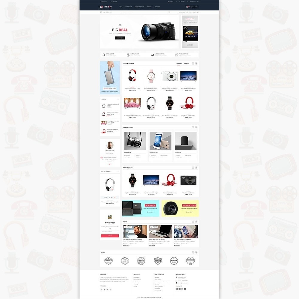 theme - Eletrônicos & High Tech - Infinity - The Mega Ecommerce Store - 2