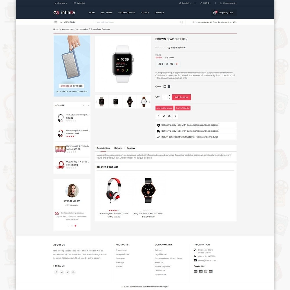 theme - Eletrônicos & High Tech - Infinity - The Mega Ecommerce Store - 5