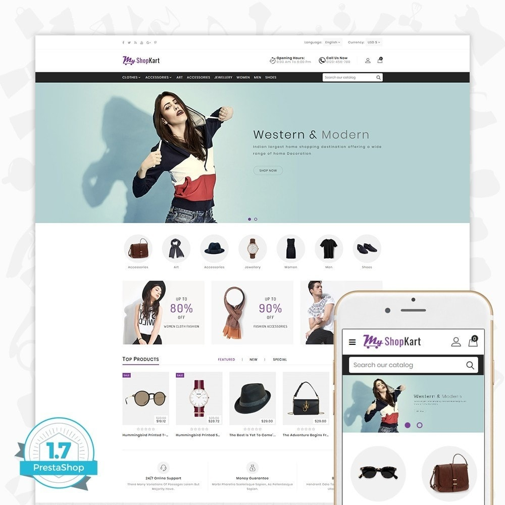 theme - Мода и обувь - MyShopKart - The Shopping Mall - 1