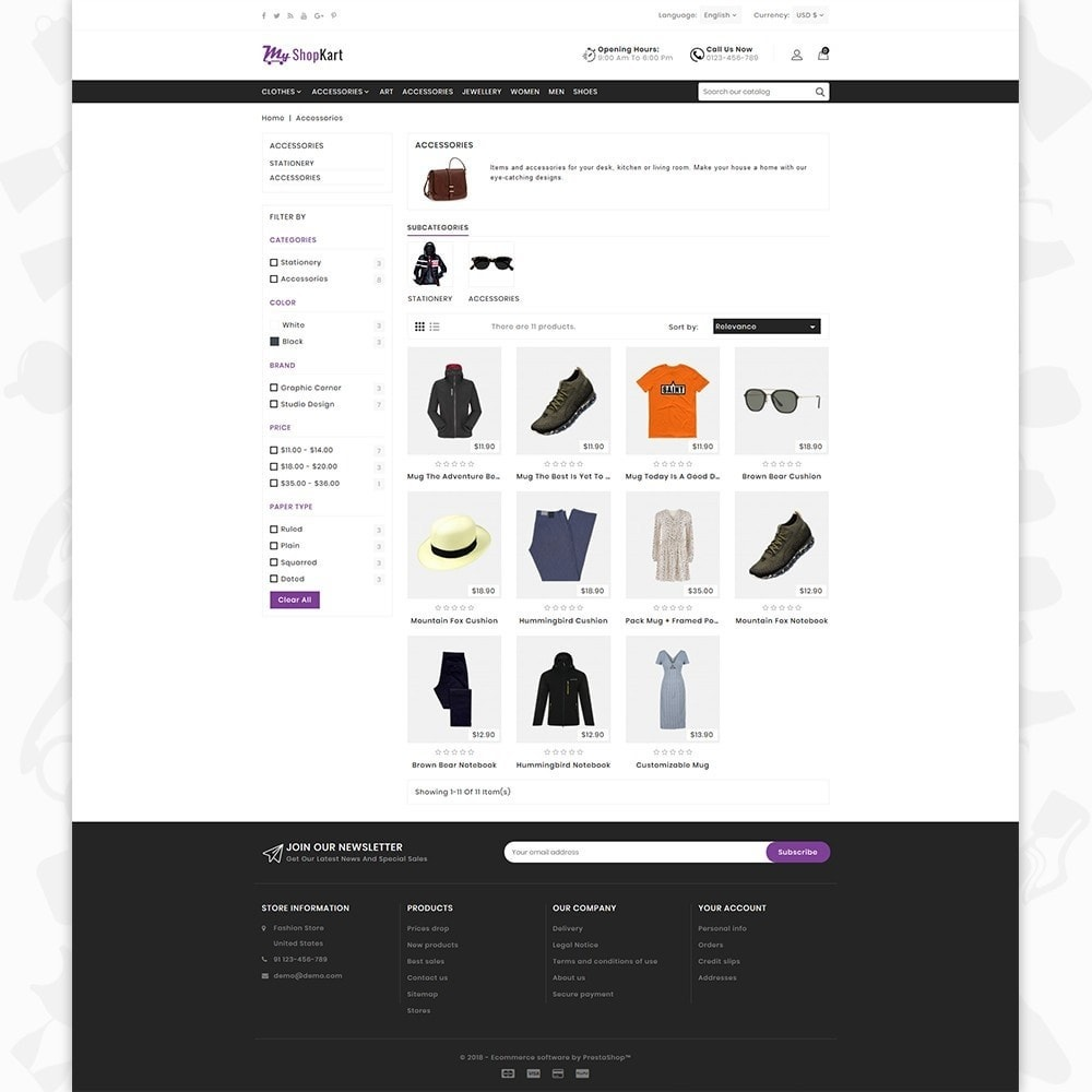 theme - Мода и обувь - MyShopKart - The Shopping Mall - 3