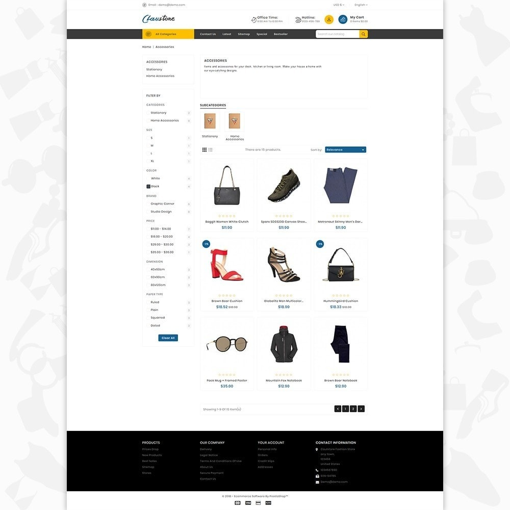 Clausestore - The Fashion Template