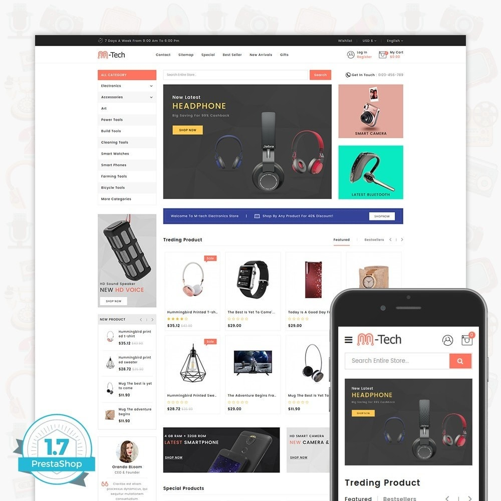 M-Tech- The Online Shopping