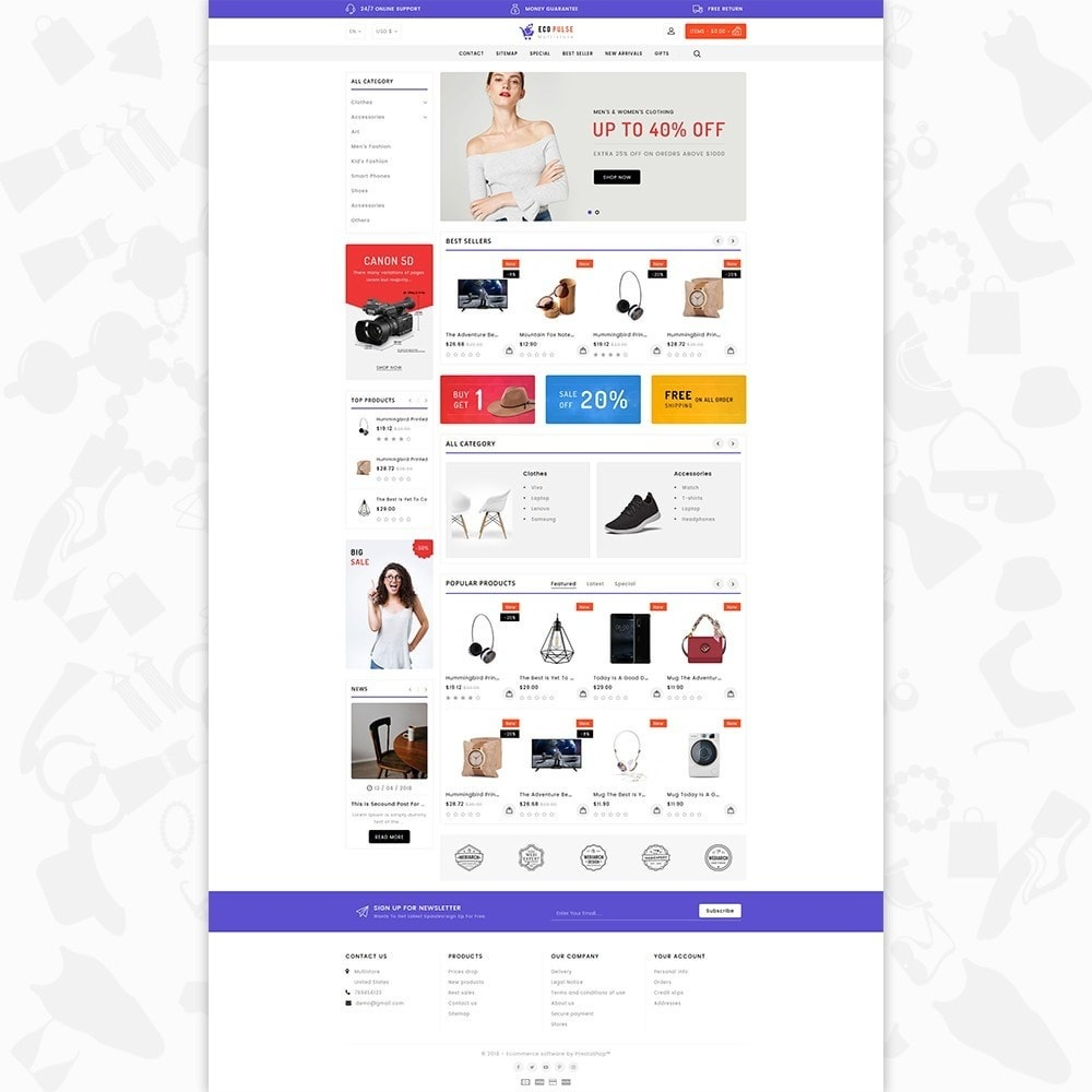theme - Elettronica & High Tech - EcoPulse - The Online Shopping - 2