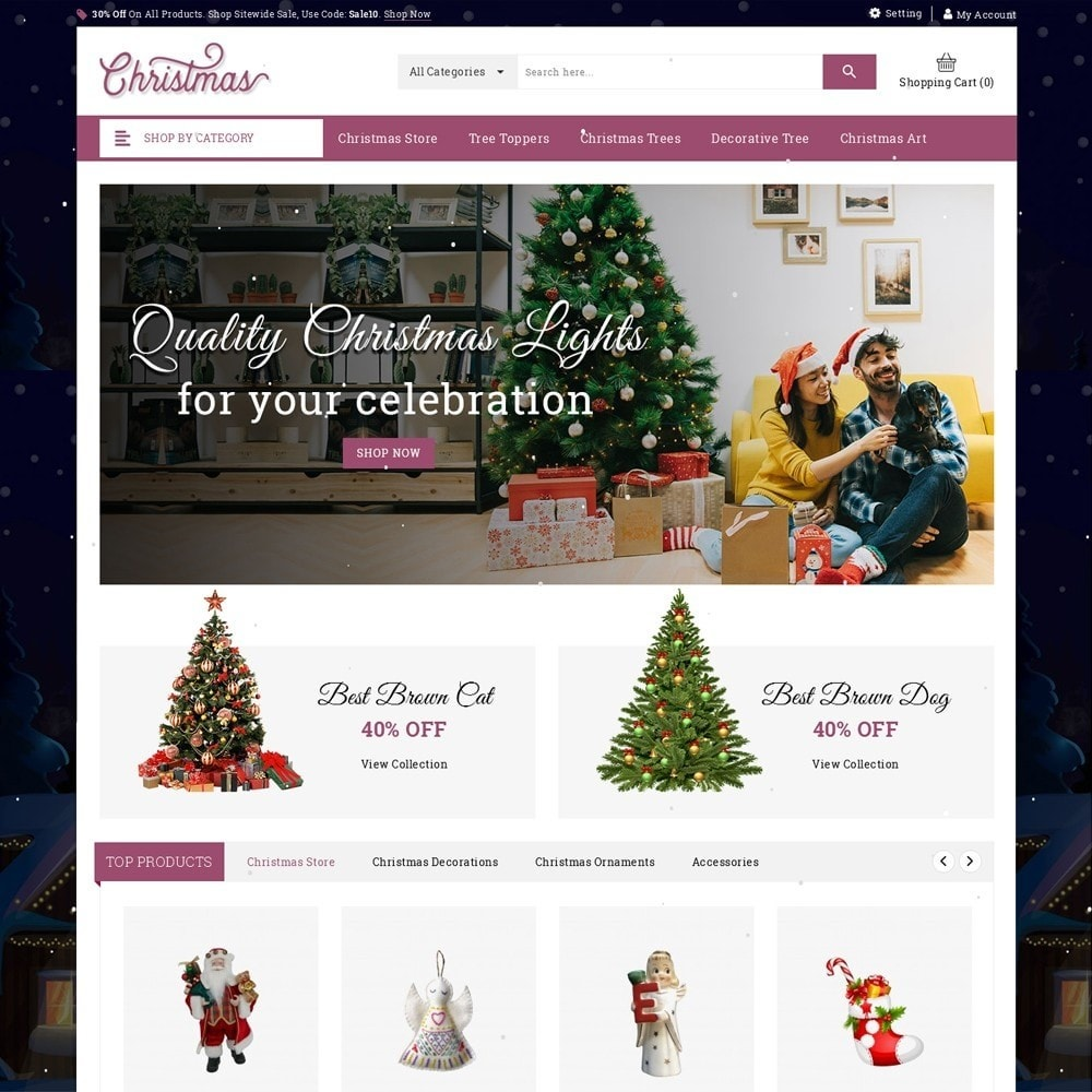 theme - Gifts, Flowers & Celebrations - Christmas - The Gift Shop - 2