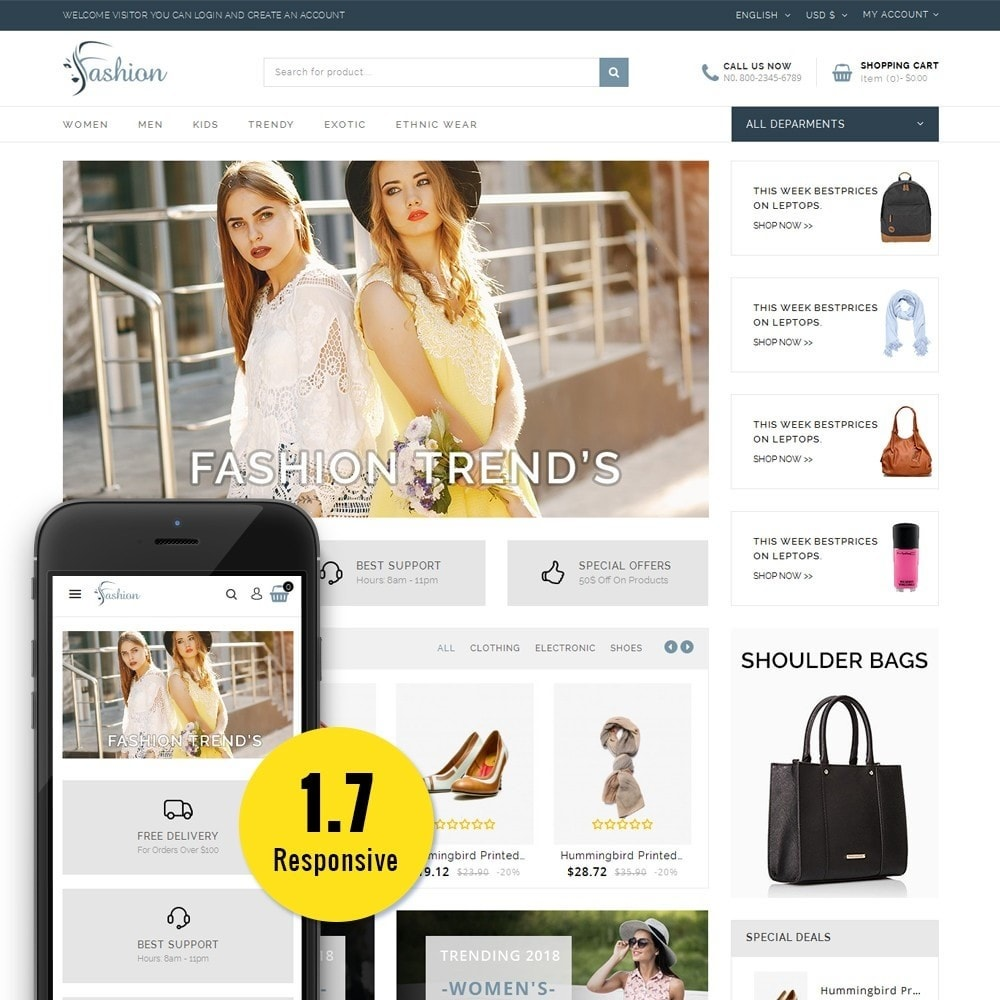 theme - Mode & Schuhe - Fashion Store - 1
