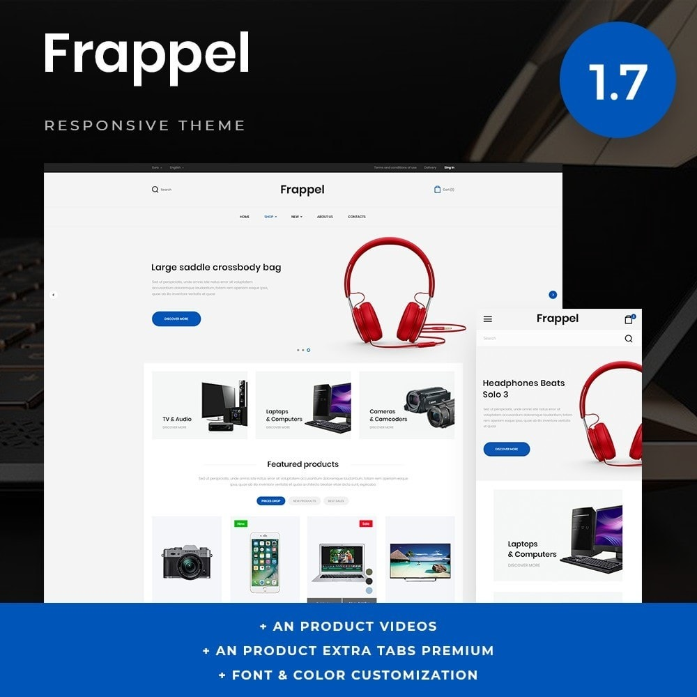 Frapper - High-tech Shop