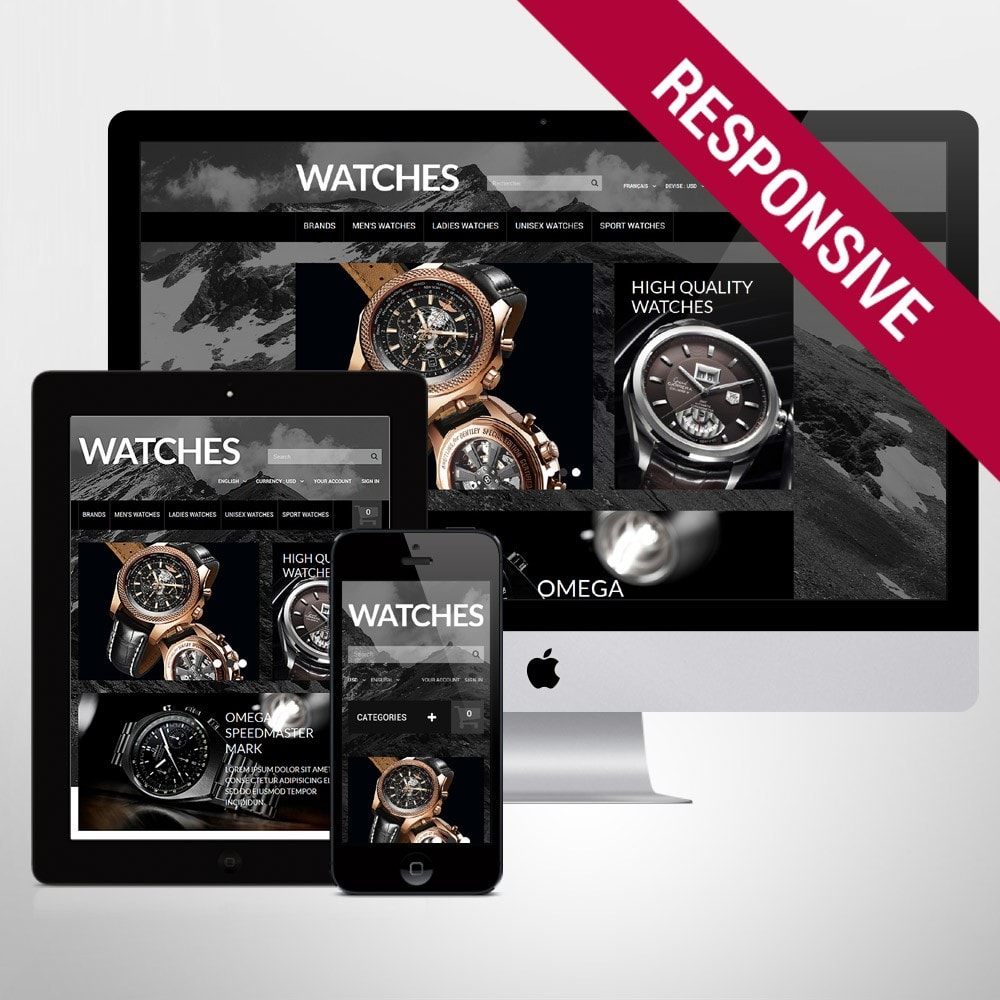 theme - Mode & Chaussures - Elegant Timepieces - 1