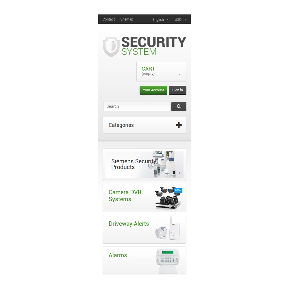 theme - Casa & Jardins - Security System - 9