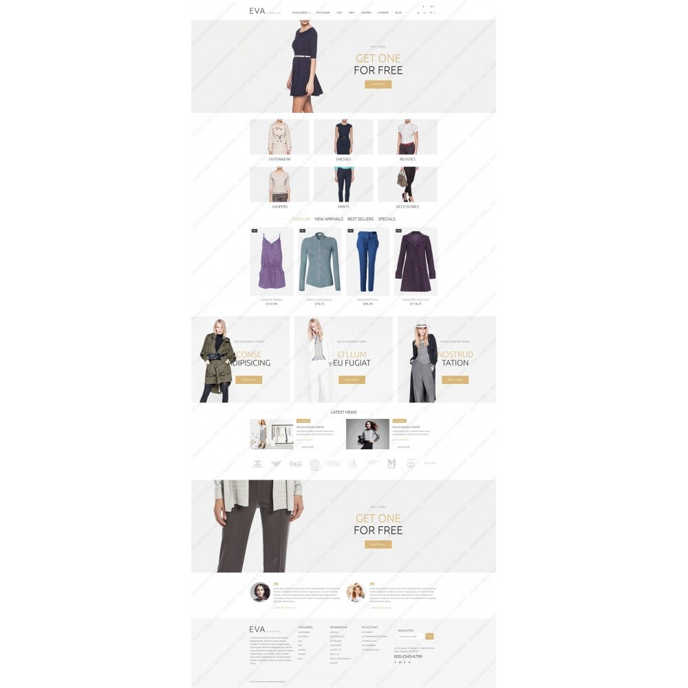 theme - Mode & Schuhe - EVA Clothing - 5