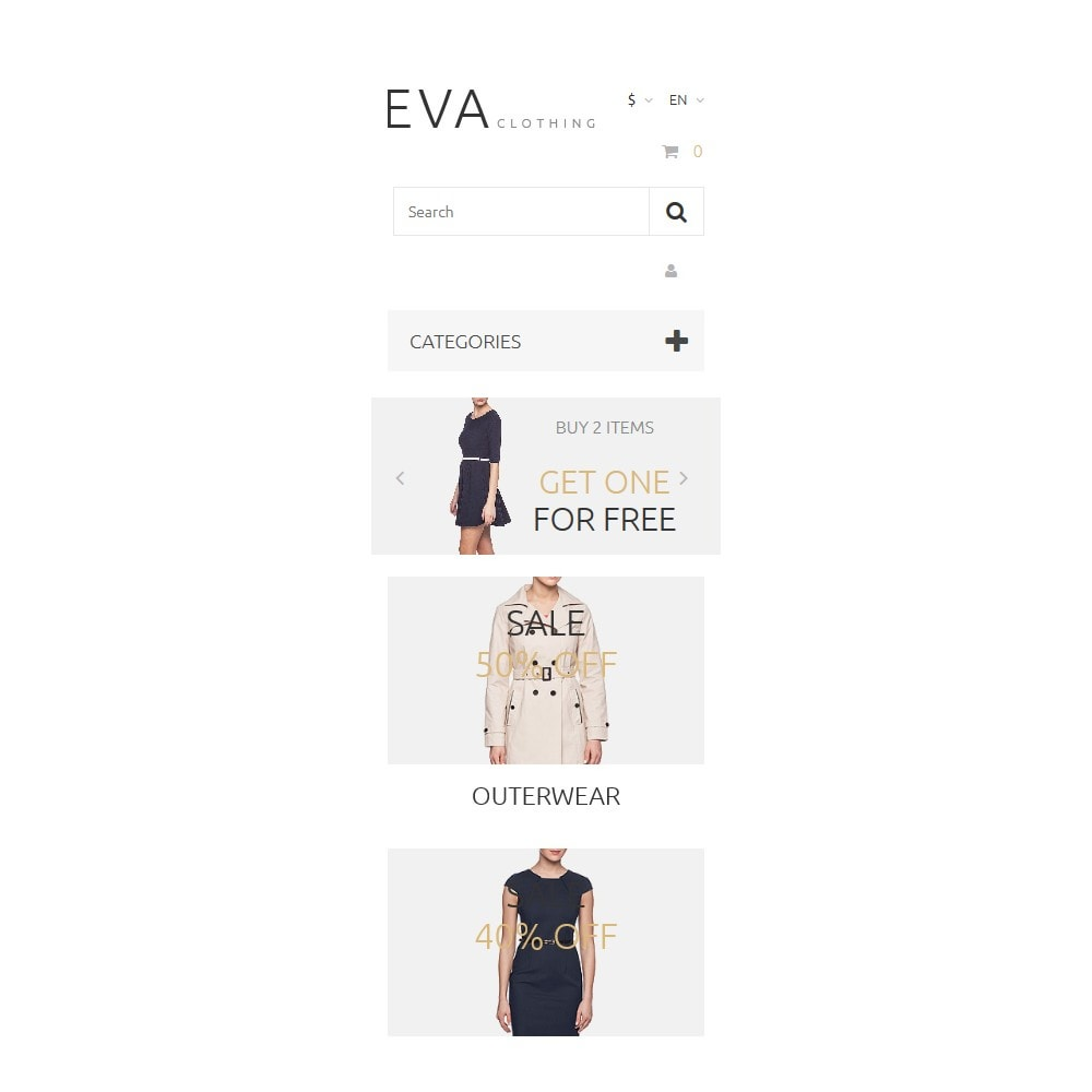 theme - Mode & Chaussures - EVA Clothing - 9