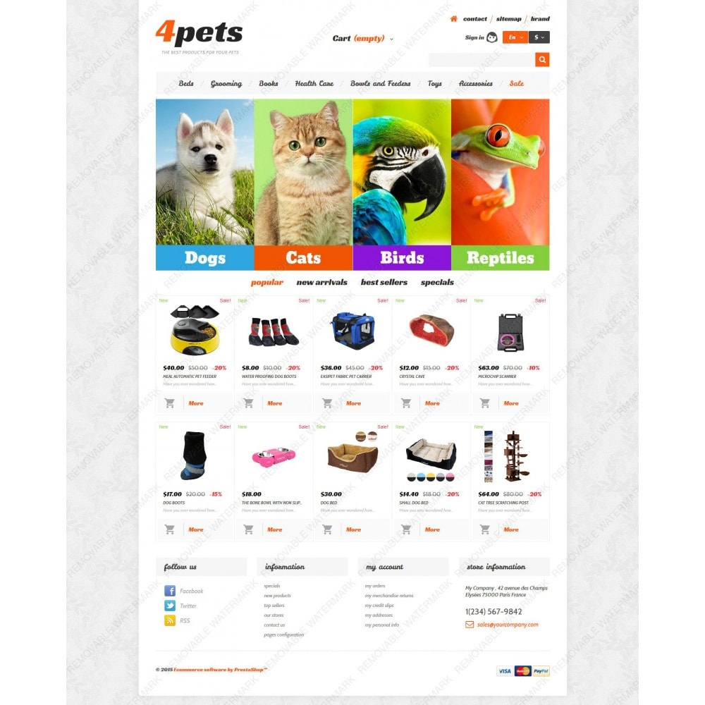 theme - Animals & Pets - 4Pets - 5