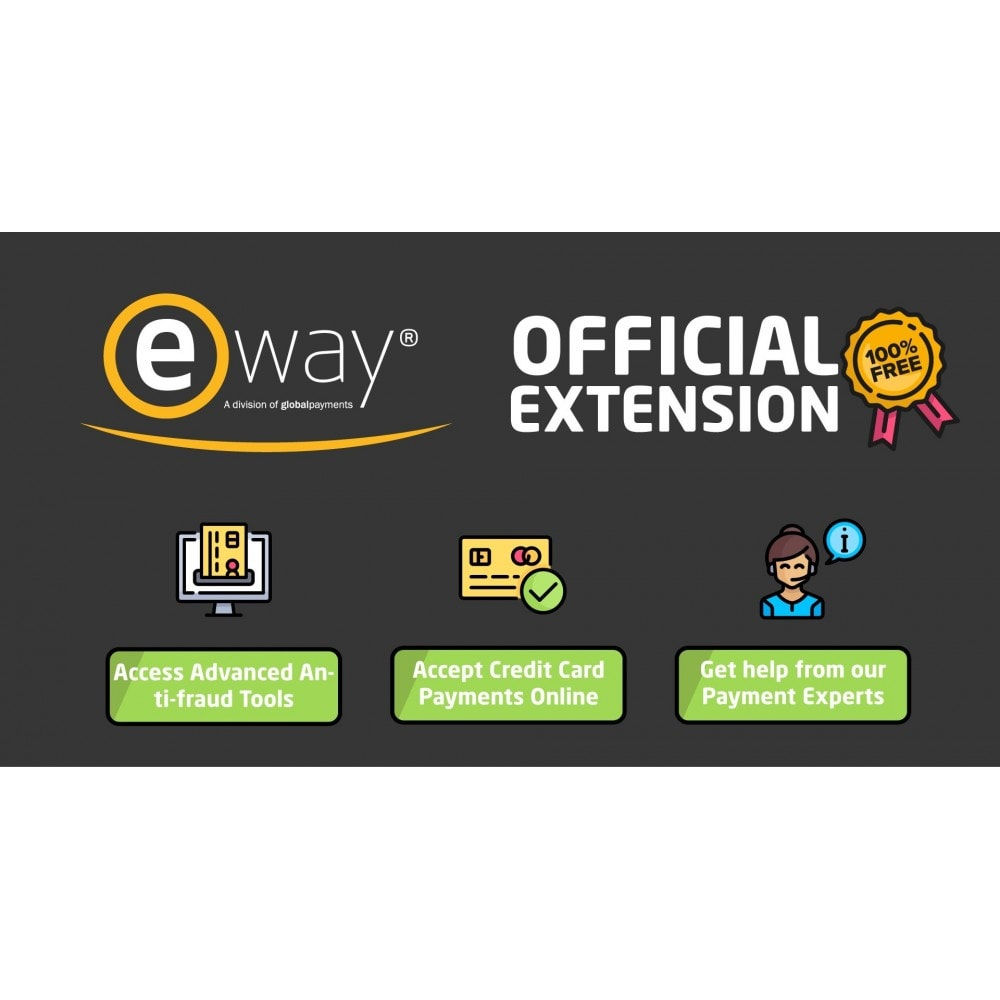 module - Creditcardbetaling of Walletbetaling - eWAY Online Payments - 1
